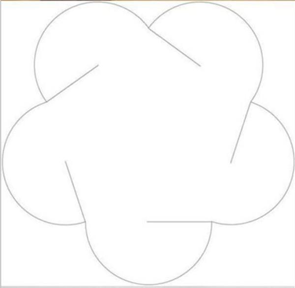 纸立体花球制作步骤图解