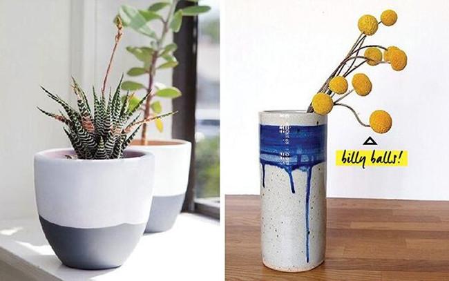 创意涂鸦diy不一样的小清新盆栽花盆
