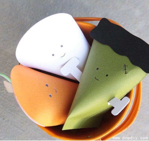 diy创意手工制作胡萝卜造型纸盒
