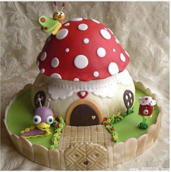 烘焙diy手工创意制作萌萌可爱的蛋糕