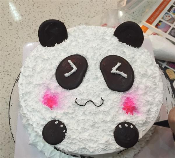 萌萌哒的可爱动物蛋糕烘焙diy手工产品