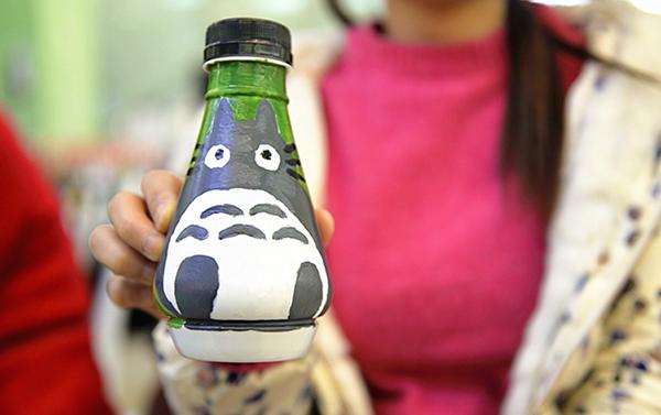 废旧塑料瓶再利用,挑战手工创意涂鸦