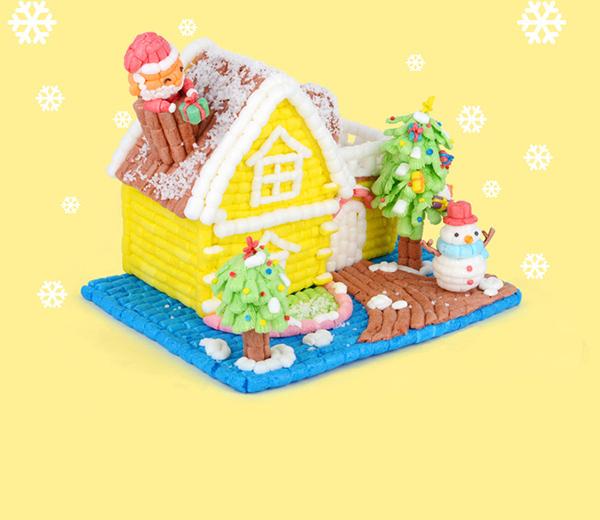 就是有种悠然的感觉的,还有一款小雪人的房子,像是生活中冬天一样.