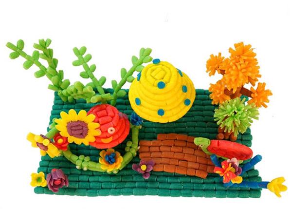 魔法玉米手工diy爱吃水果的小动物们产品欣赏