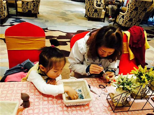 儿童主题乐园DIY创意坊分享周末手工DIY暖场活动图片
