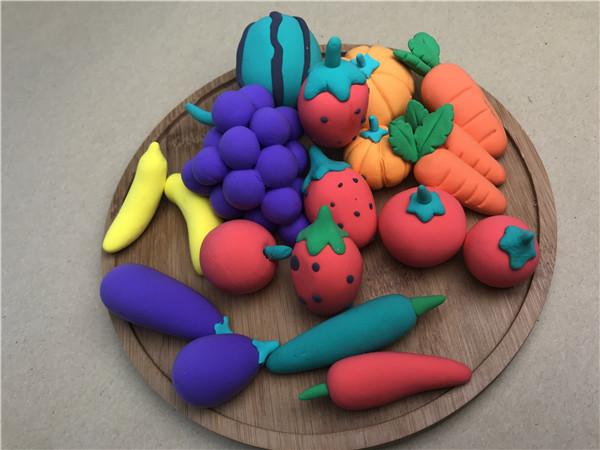 儿童手工乐园超轻粘土作品:仿真水果合集