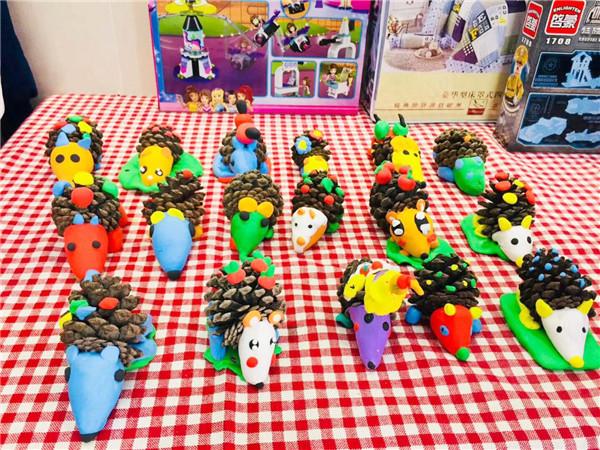 创意儿童diy店分享周末超轻粘土diy手工课程